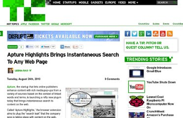 http://techcrunch.com/2010/08/24/apture-now-brings-instantaneous-search-to-any-web-page/