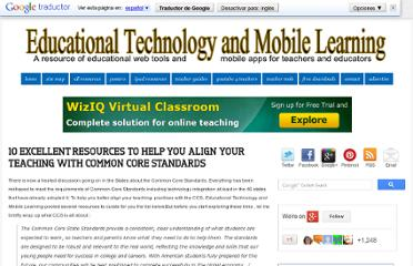 http://www.educatorstechnology.com/2013/03/10-excellent-resources-to-help-you.html