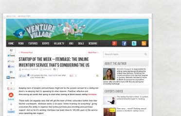http://venturevillage.eu/startup-of-the-week-itembase