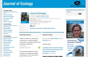 http://www.journalofecology.org/view/0/index.html