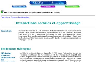 http://tecfa.unige.ch/tecfa/teaching/LME/tessaro/interaction_sociale.htm