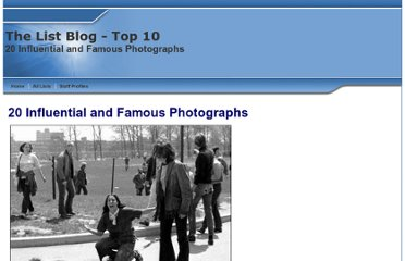 http://www.listzblog.com/top_ten_influential_and_famous_photographs_list.html