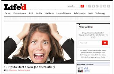 http://www.lifed.com/10-tips-to-start-a-new-job-successfully