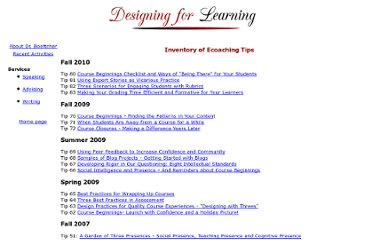 http://www.designingforlearning.info/services/writing/ecoach/inventory.htm