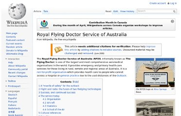 http://en.wikipedia.org/wiki/Royal_Flying_Doctor_Service_of_Australia
