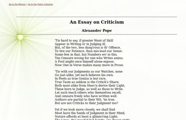 http://poetry.eserver.org/essay-on-criticism.html