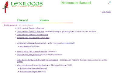 http://www.lexilogos.com/flamand_langue_dictionnaires.htm