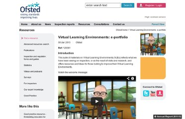 http://www.ofsted.gov.uk/resources/virtual-learning-environments-e-portfolio