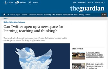 http://www.guardian.co.uk/higher-education-network/blog/2013/mar/13/twitter-transform-learning-higher-education