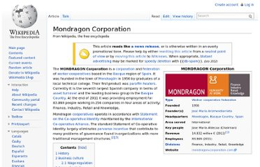 http://en.wikipedia.org/wiki/Mondragon_Corporation