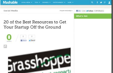 http://mashable.com/2009/11/05/resources-for-starting-your-startup/