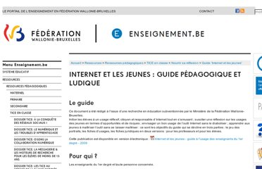 http://www.enseignement.be/index.php?page=26149