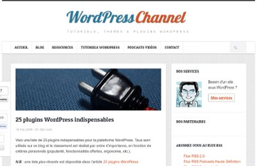 http://wpchannel.com/25-plugins-wordpress-indispensables/