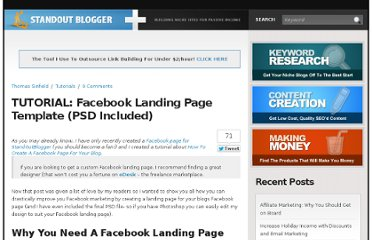 http://www.standoutblogger.com/tutorials/tutorial-facebook-landing-page-template-psd-included/