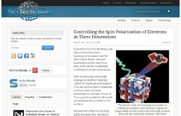 http://scitechdaily.com/controlling-the-spin-polarization-of-electrons-in-three-dimensions/