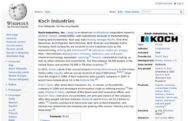 http://en.wikipedia.org/wiki/Koch_Industries