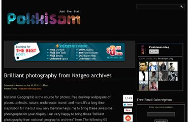 http://blog.pokkisam.com/content/brilliant-photography-natgeo-archives