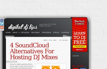 http://www.digitaldjtips.com/2011/03/5-alternatives-to-soundcloud-for-dj-mix-hosting/