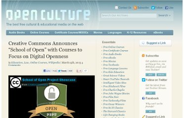 http://www.openculture.com/2013/03/creative_commons_announces_school_of_open_with_courses_to_focus_on_digital_openness.html