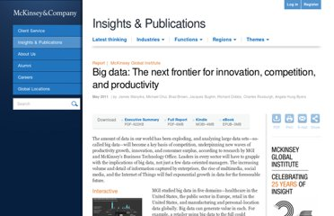 http://www.mckinsey.com/insights/business_technology/big_data_the_next_frontier_for_innovation