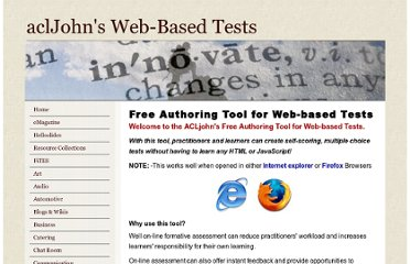 http://www.acljohn.com/web-based-tests.php