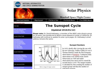 http://solarscience.msfc.nasa.gov/SunspotCycle.shtml