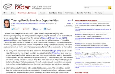 http://radar.oreilly.com/2009/11/turning-predictions-into-oppor.html
