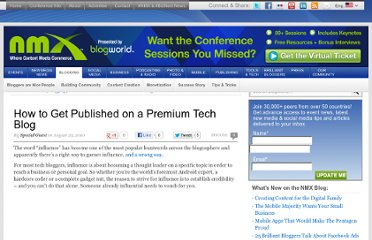 http://www.blogworld.com/2010/08/25/how-to-get-published-on-a-premium-tech-blog/