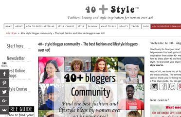 http://40plusstyle.com/women-over-40-blogger-community/