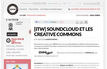 http://owni.fr/2010/08/25/itw-soundcloud-et-les-creative-commons/