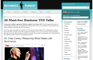 http://www.businesspundit.com/20-must-see-business-ted-talks/