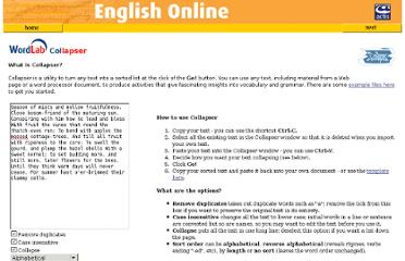http://www.englishonline.co.uk/freesite_tour/resource/wordlab/collapser.html
