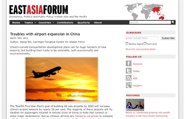 http://www.eastasiaforum.org/2013/03/18/troubles-with-airport-expansion-in-china/