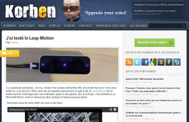 http://korben.info/test-leap-motion.html