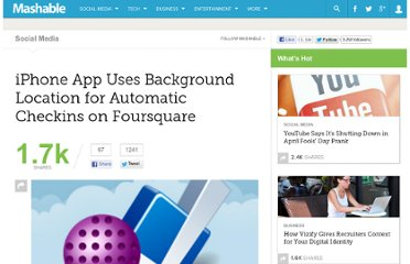 http://mashable.com/2010/08/25/checkmate-for-foursquare/