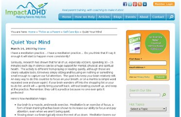 http://impactadhd.com/thrive-as-a-parent/selfcare-thrive-as-a-parent/quiet-your-mind/