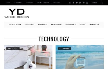 http://www.yankodesign.com/category/technology/