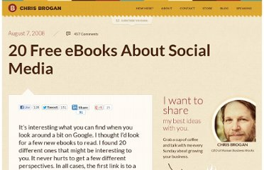 http://www.chrisbrogan.com/20-free-ebooks-about-social-media/
