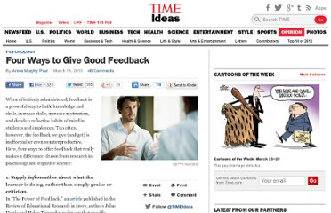 http://ideas.time.com/2013/03/18/four-ways-to-give-good-feedback/