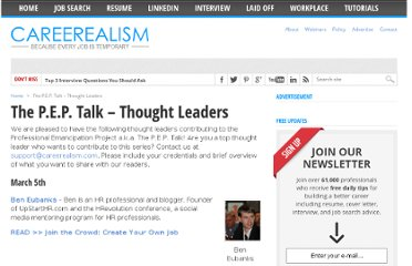 http://www.careerealism.com/pep-talk-thought-leaders/