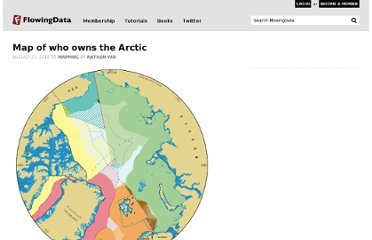http://flowingdata.com/2010/08/27/map-of-who-owns-the-arctic/