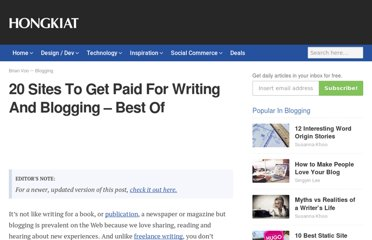 http://www.hongkiat.com/blog/sites-to-get-paid-blogging/