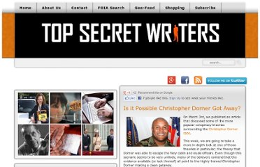 http://www.topsecretwriters.com/2013/03/is-it-possible-christopher-dorner-got-away/