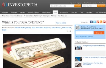http://www.investopedia.com/slide-show/risk-tolerance/default.aspx