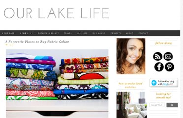http://www.ourlakelife.com/2012/11/05/10-great-places-to-buy-fabric-online/