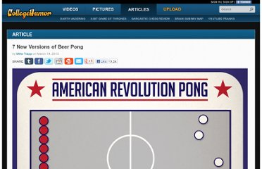 http://www.collegehumor.com/article/6878481/7-new-versions-of-beer-pong