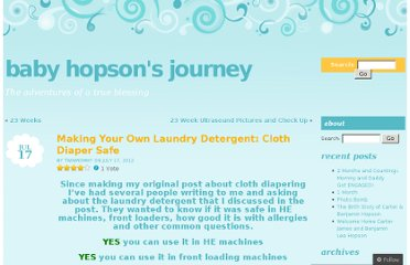 http://babyhopsons.wordpress.com/2012/07/17/making-your-own-laundry-detergent-cloth-diaper-safe/