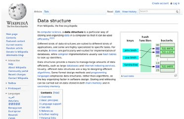 http://en.wikipedia.org/wiki/Data_structure