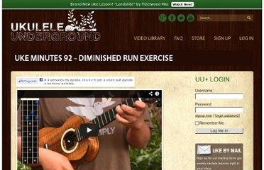 http://ukuleleunderground.com/2010/06/uke-minutes-92-diminished-run-exercise/