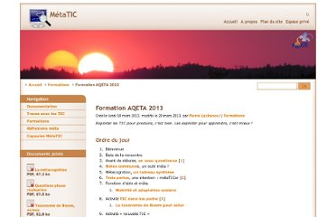 http://recit.org/metatic/Formation-AQETA-2013